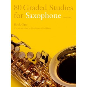 80 Graded Studies for Saxophone. Book 1