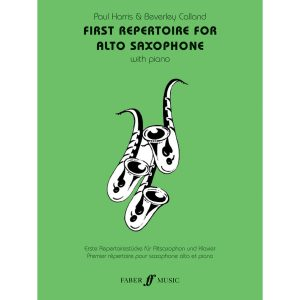 First Repertoire (alto sax and piano)