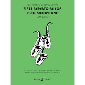 First Repertoire (alto sax and piano)