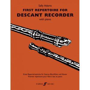 First Repertoire (desc.recorder and pno)