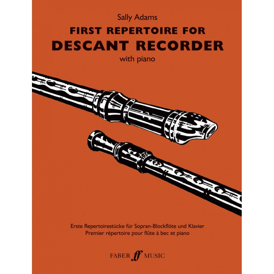 First Repertoire (desc.recorder and pno)