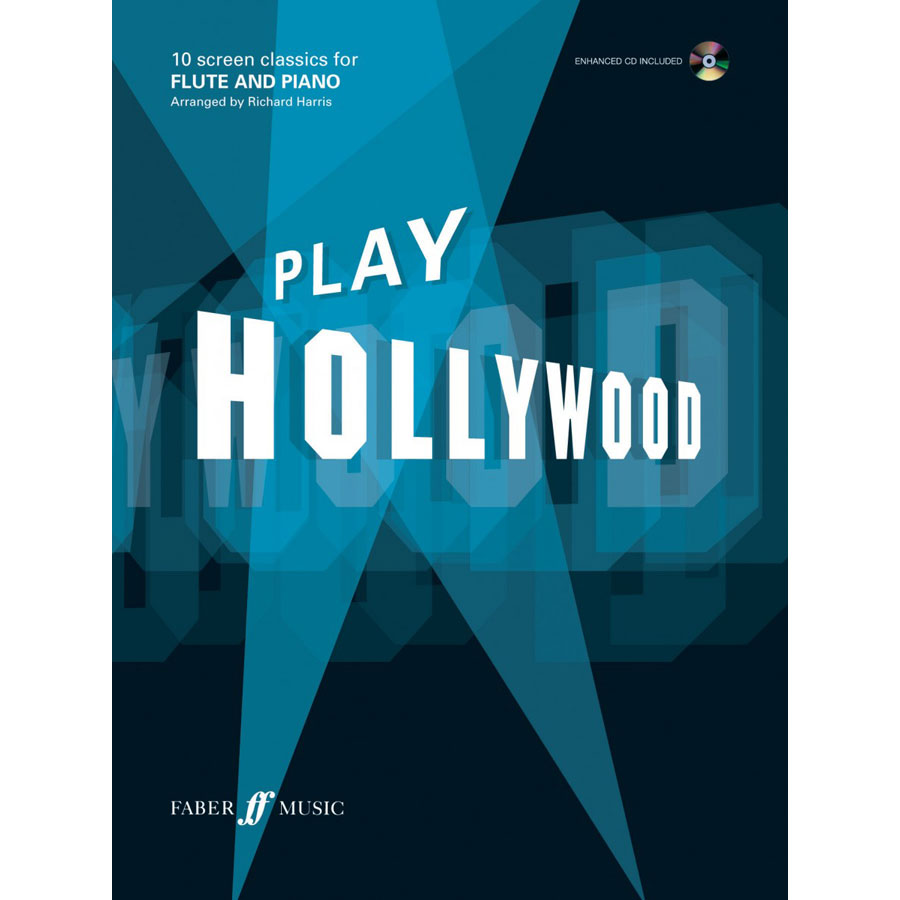 Play Hollywood (Flute & Piano) w/CD