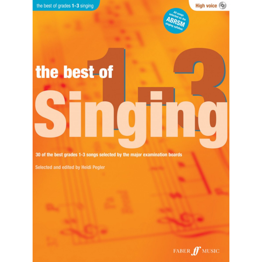 The Best of Singing 1-3 (High Voice)