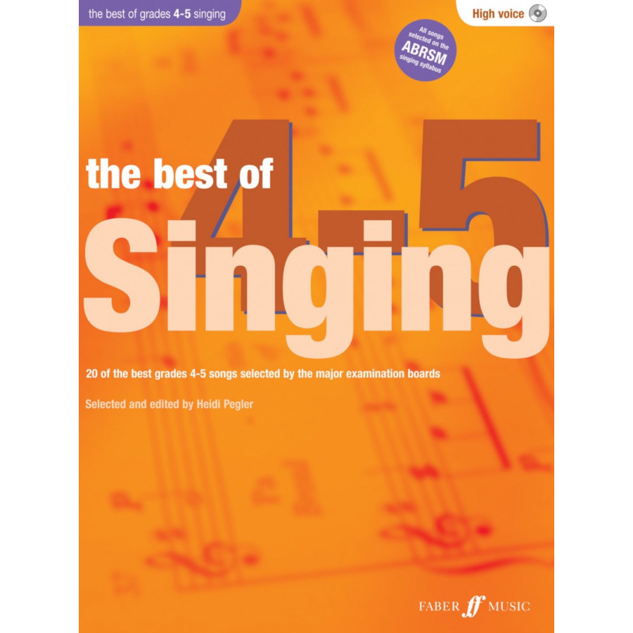 Best of Singing. Gr 4-5 (high voice/CD)