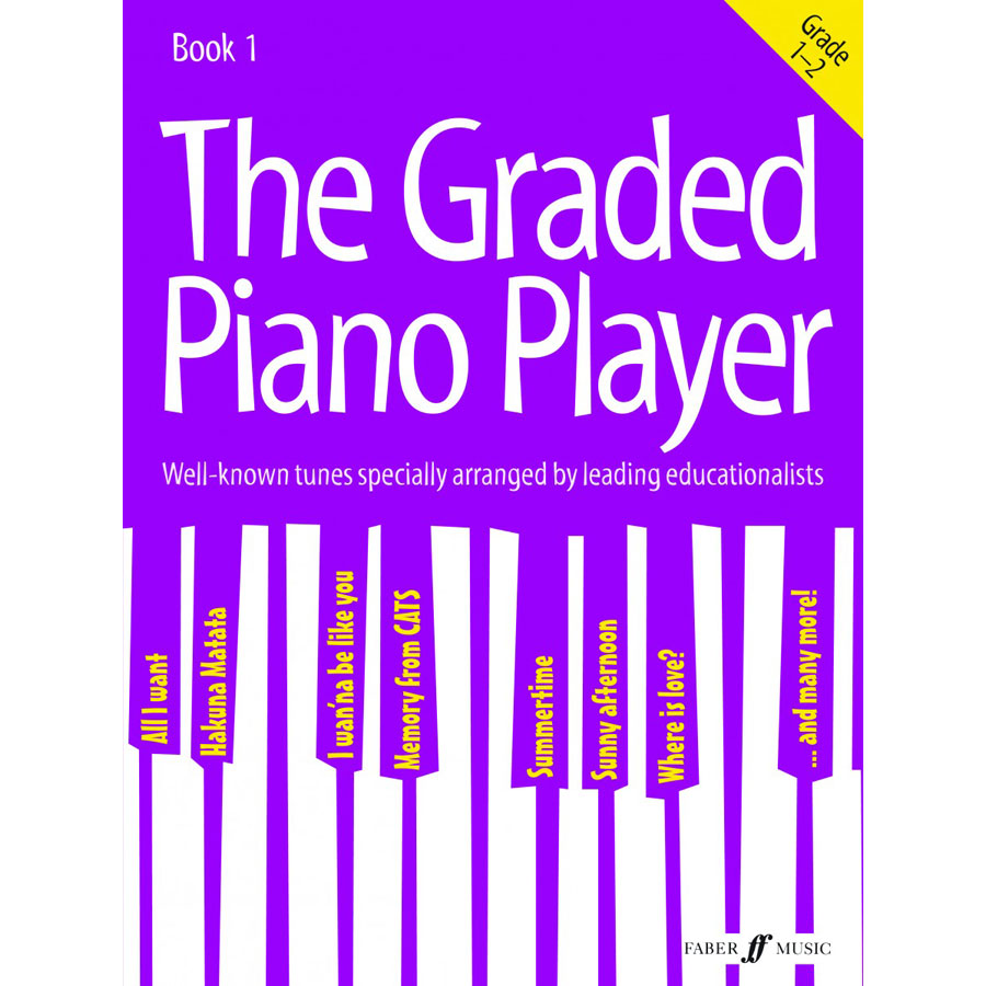The Graded Piano Player Bk 1 (Gr 1-2)