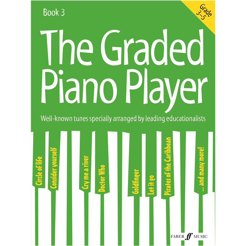 The Graded Piano Player Bk 3 (Gr 3-5)