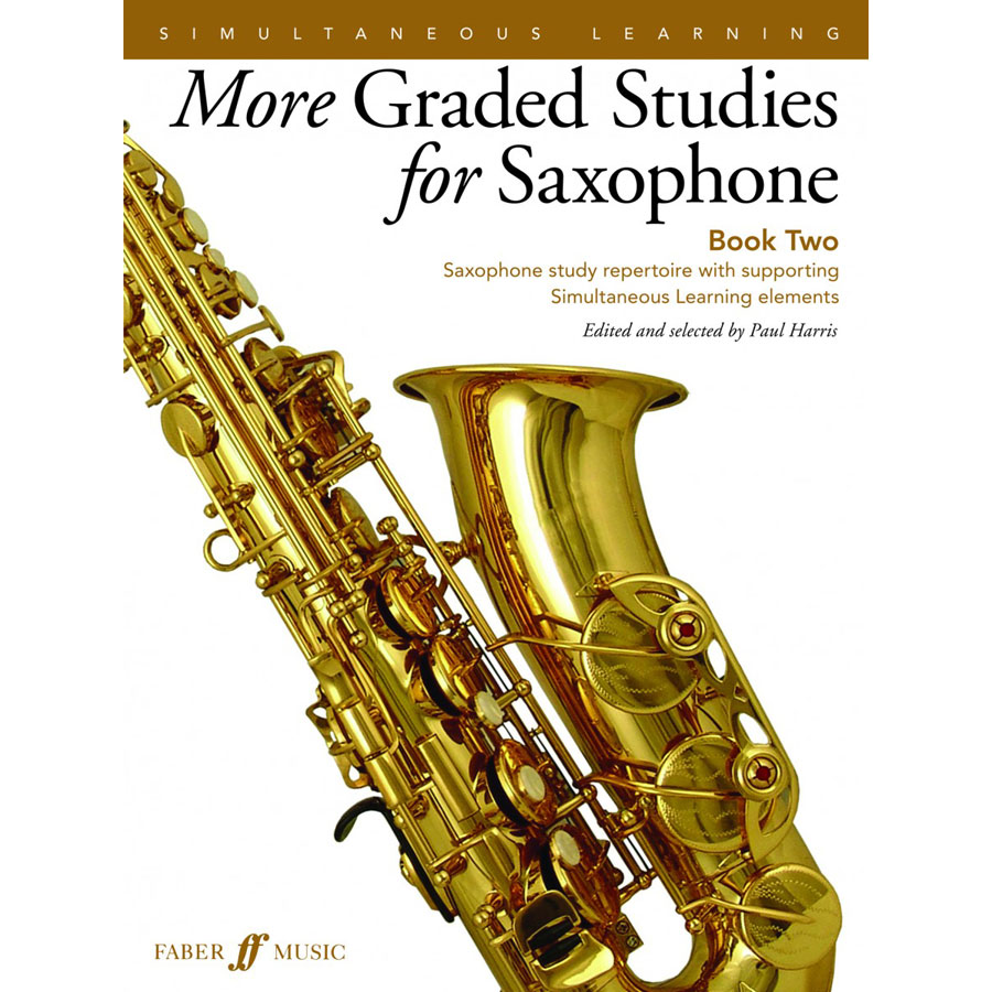 More Graded Studies for Saxophone Book 2