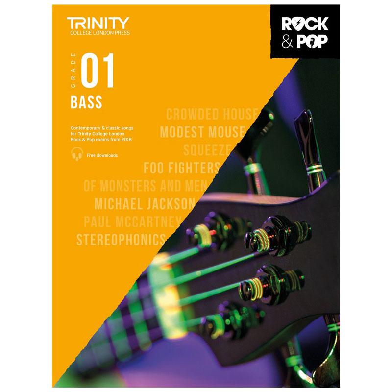 Trinity Rock & Pop 2018 Bass Grade 1