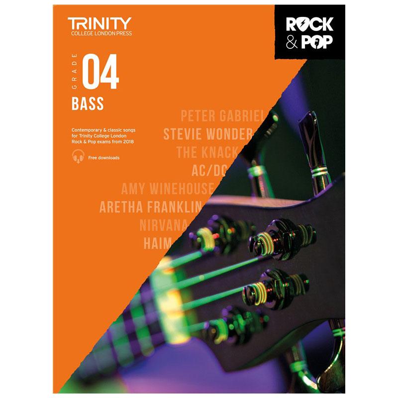 Trinity Rock & Pop 2018 Bass Grade 4