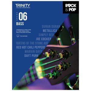 Trinity Rock & Pop 2018 Bass Grade 6