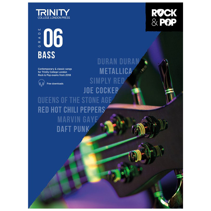 Trinity Rock & Pop 2018 Bass Grade 6