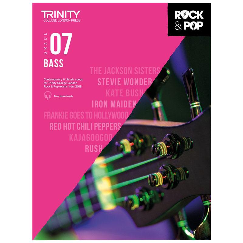 Trinity Rock & Pop 2018 Bass Grade 7