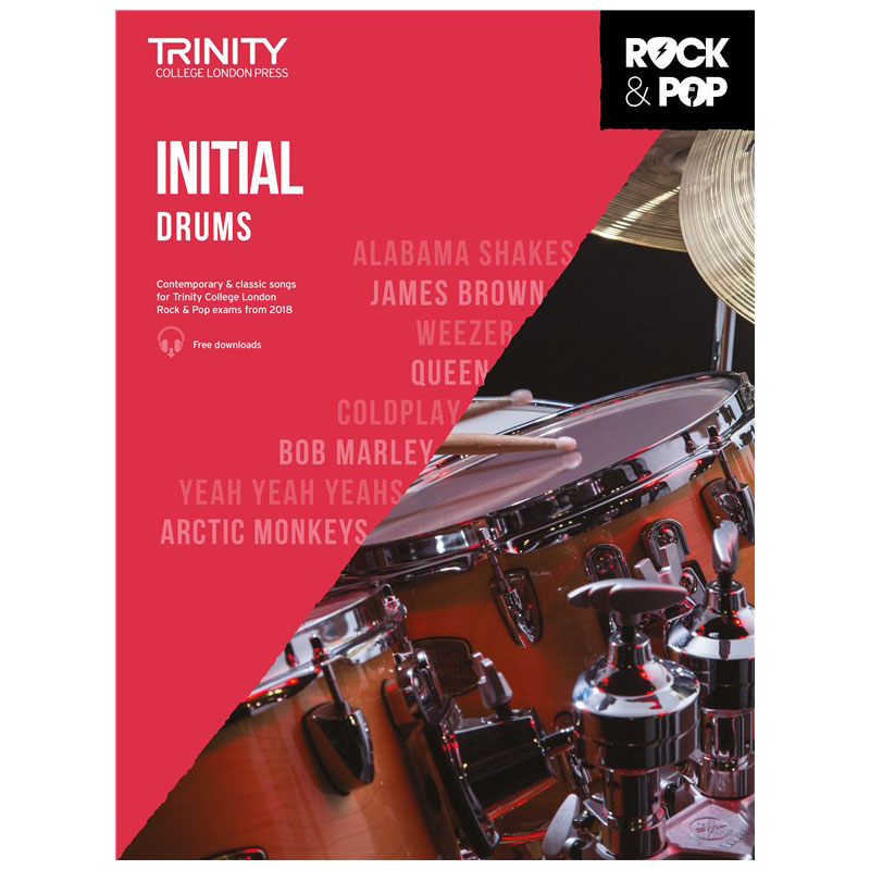Trinity Rock & Pop 2018 Drums Initial