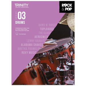 Trinity Rock & Pop 2018 Drums Grade 3