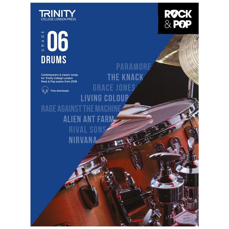 Trinity Rock & Pop 2018 Drums Grade 6