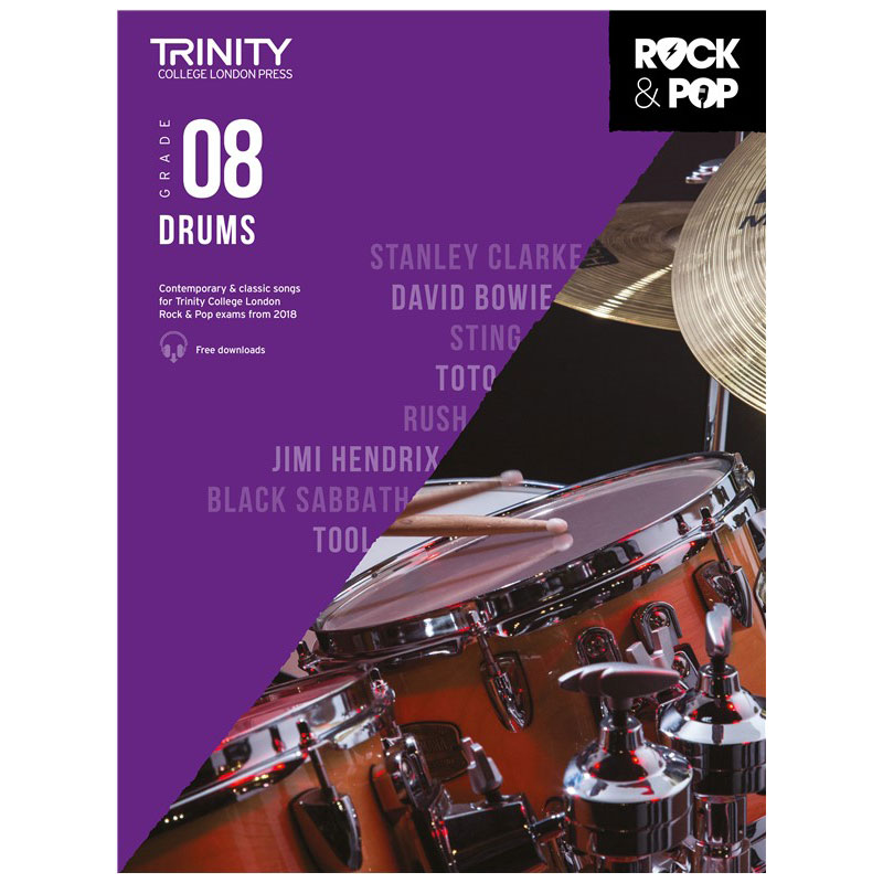 Trinity Rock & Pop 2018 Drums Grade 8