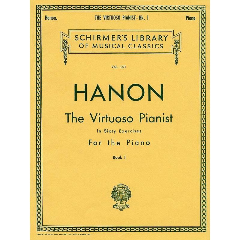 Hanon: The Virtuoso Pianist In Sixy Exercises Vol1