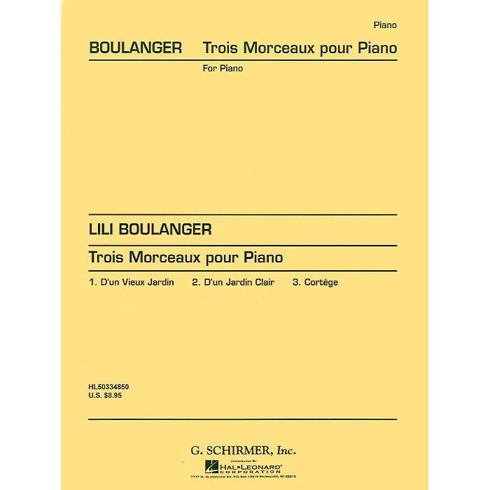 L. Boulanger: Trois morceaux pour piano