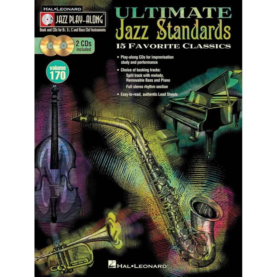 Jazz Play Along: Vol 170 - Ultimate Jazz Standards