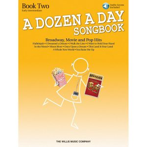 A Dozen A Day Songbook: Brdwy, Movie & Pop - 2