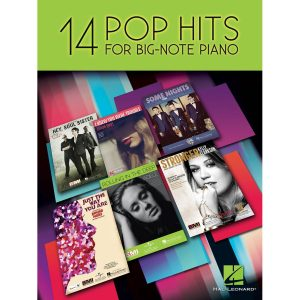 14 Pop Hits for Big-Note Piano