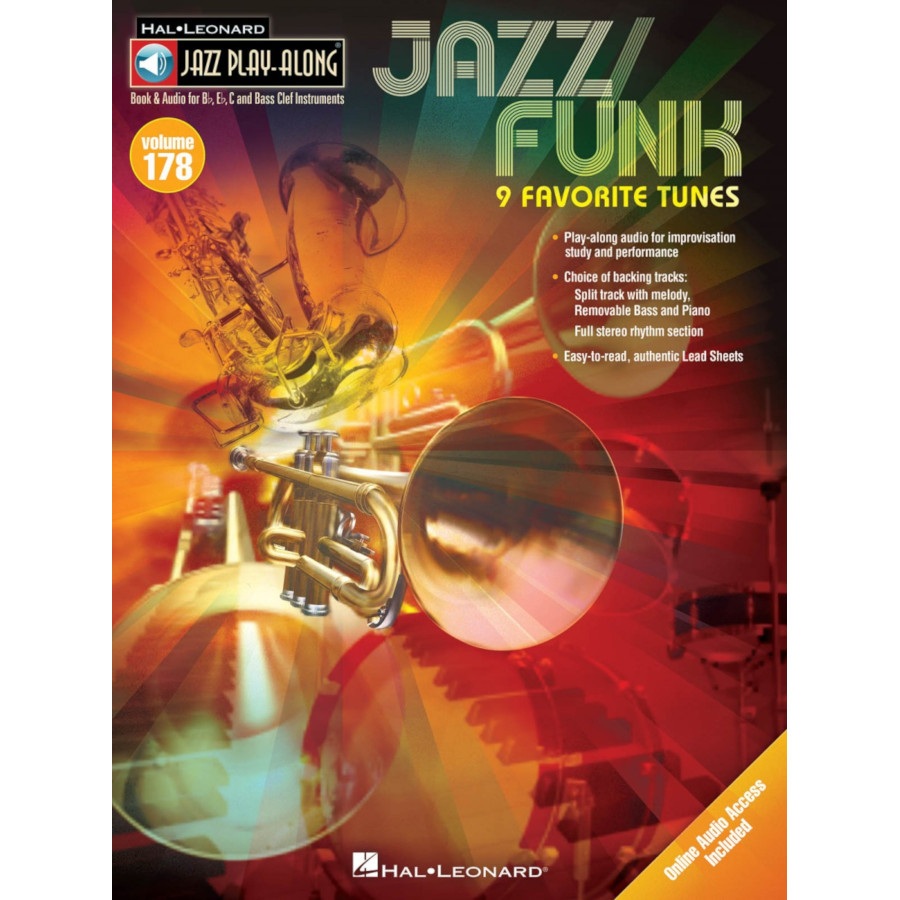 Jazz Play-Along Volume 178 - Jazz/Funk