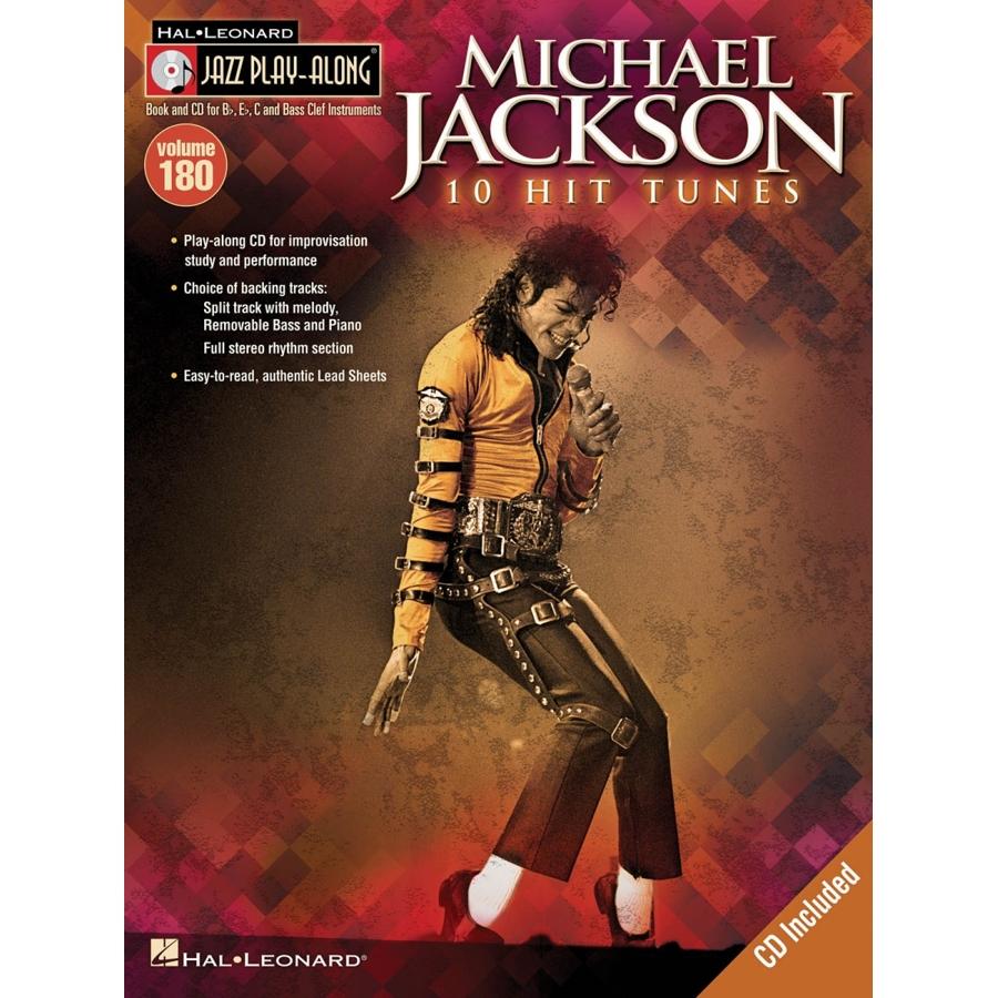 Jazz Play Along: Volume 180 - Michael Jackson