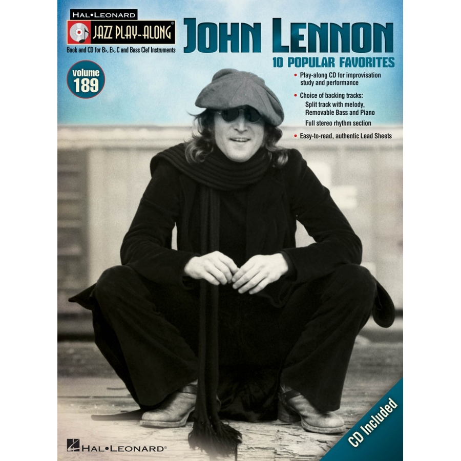 Jazz Play Along: Volume 189 - John Lennon