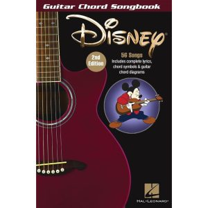 Guitar Chord Songbook: Disney (2nd Ed)