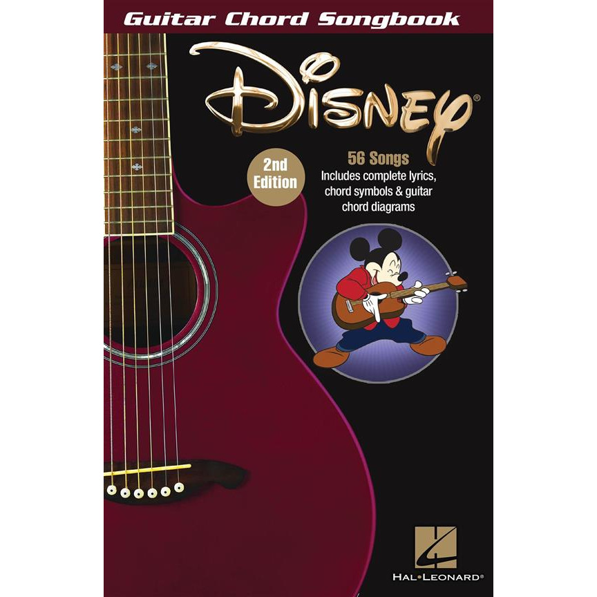 Guitar Chord Songbook: Disney (2nd Ed)
