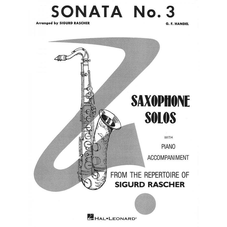 G. F Handel: Sonata No. 3 (Saxophone)
