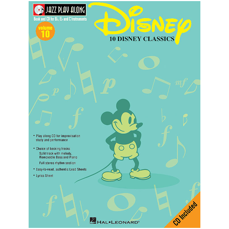Jazz Play Along: Volume 10 - Disney