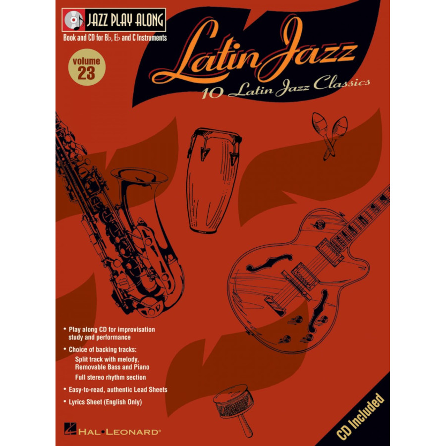 Jazz Play Along Volume 23 - Latin Jazz