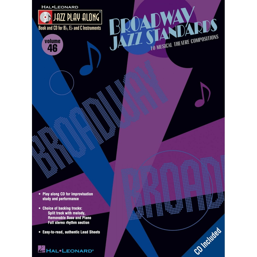 Jazz Play Along: Vol 46 - Broadway Jazz Standards