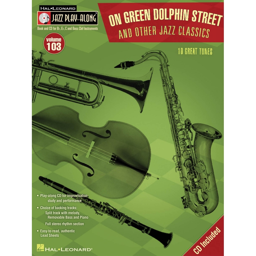 Jazz Play Along: Volume 103 - On Green Dolphin St