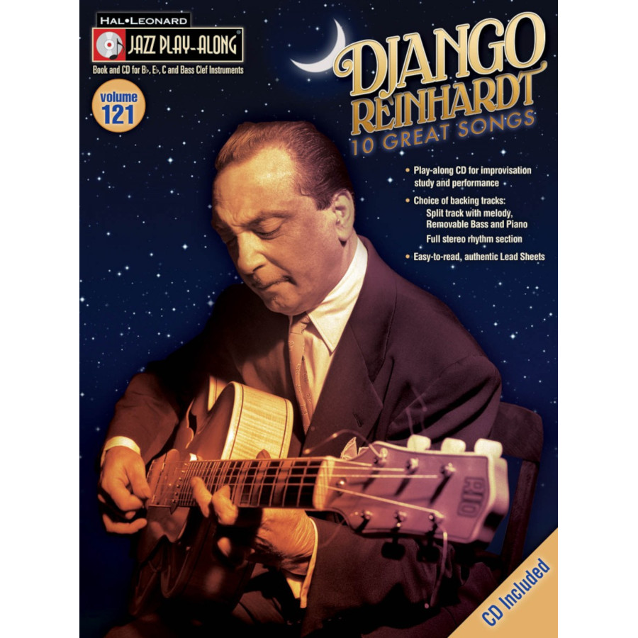 Jazz Play Along: Volume 121 - Django Reinhardt