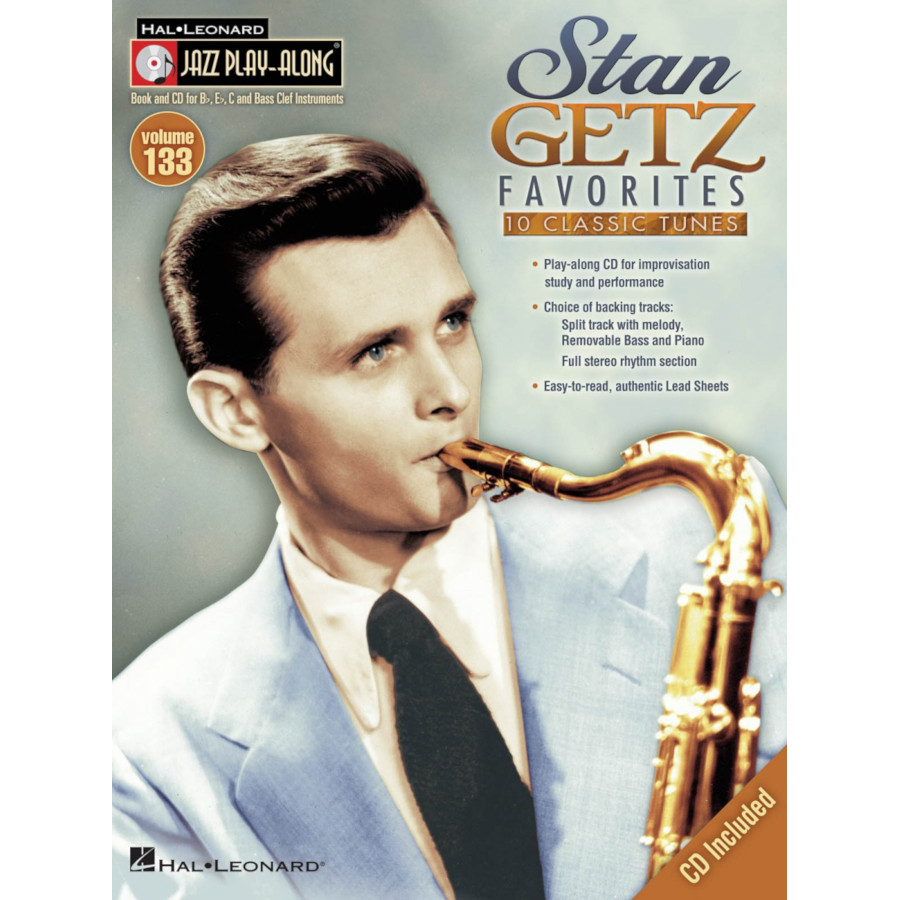 Jazz Play Along: Volume 133 - Stan Getz Favorites