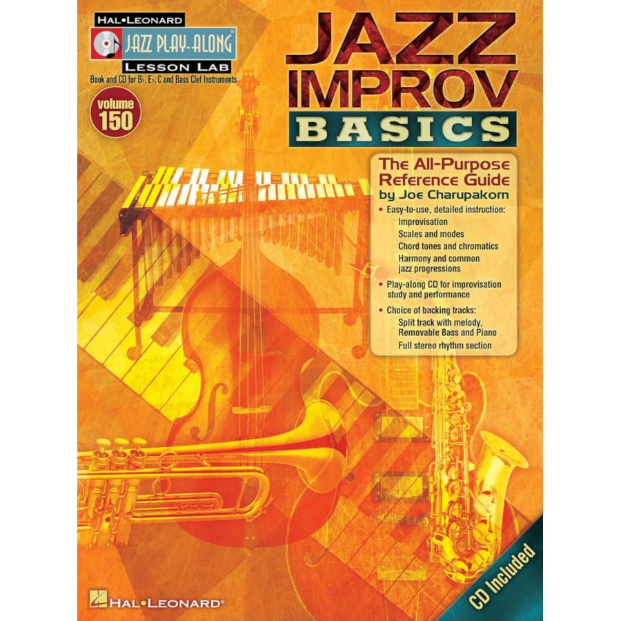 Jazz Play Along: Volume 150 - Jazz Improv Basics