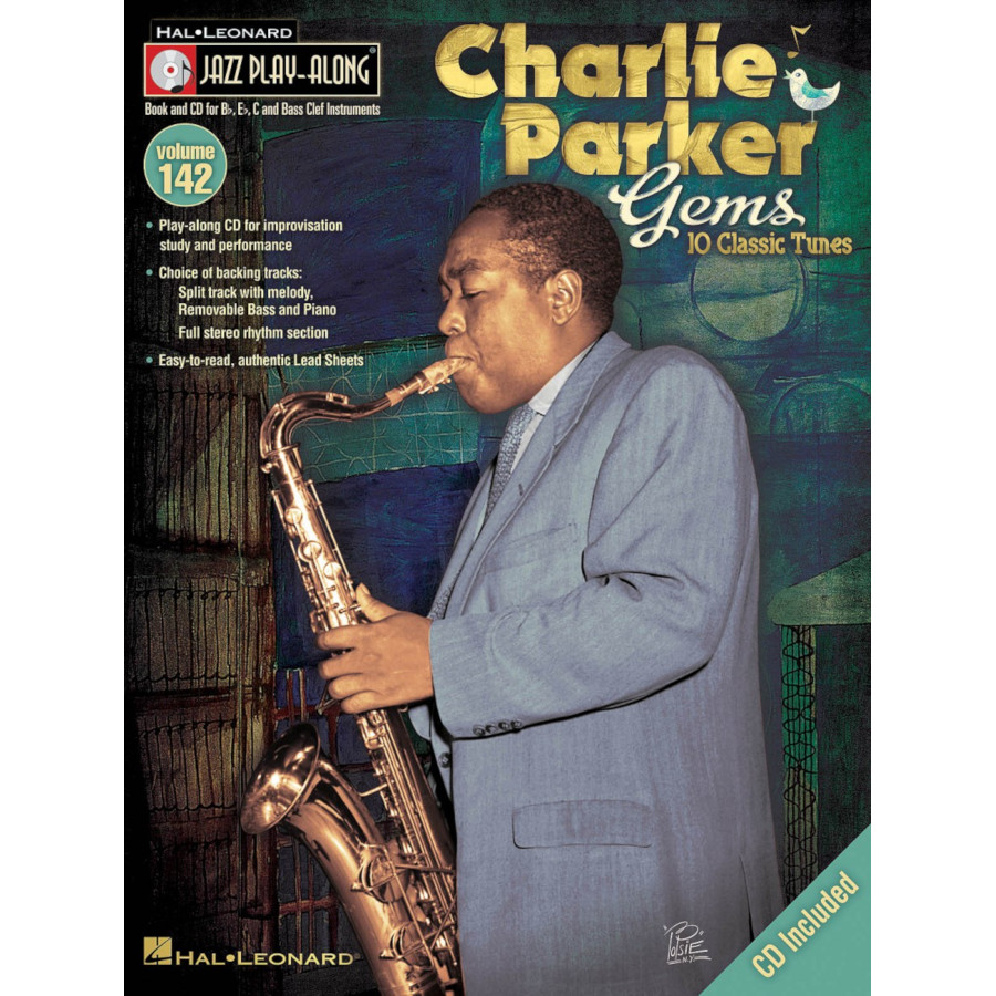 Jazz Play Along: Volume 142 - Charlie Parker Gems