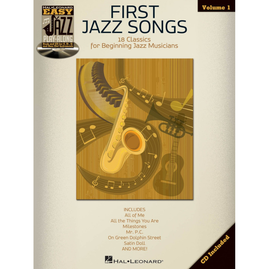 Easy Jazz Play-Along Volume 1: First Jazz Songs