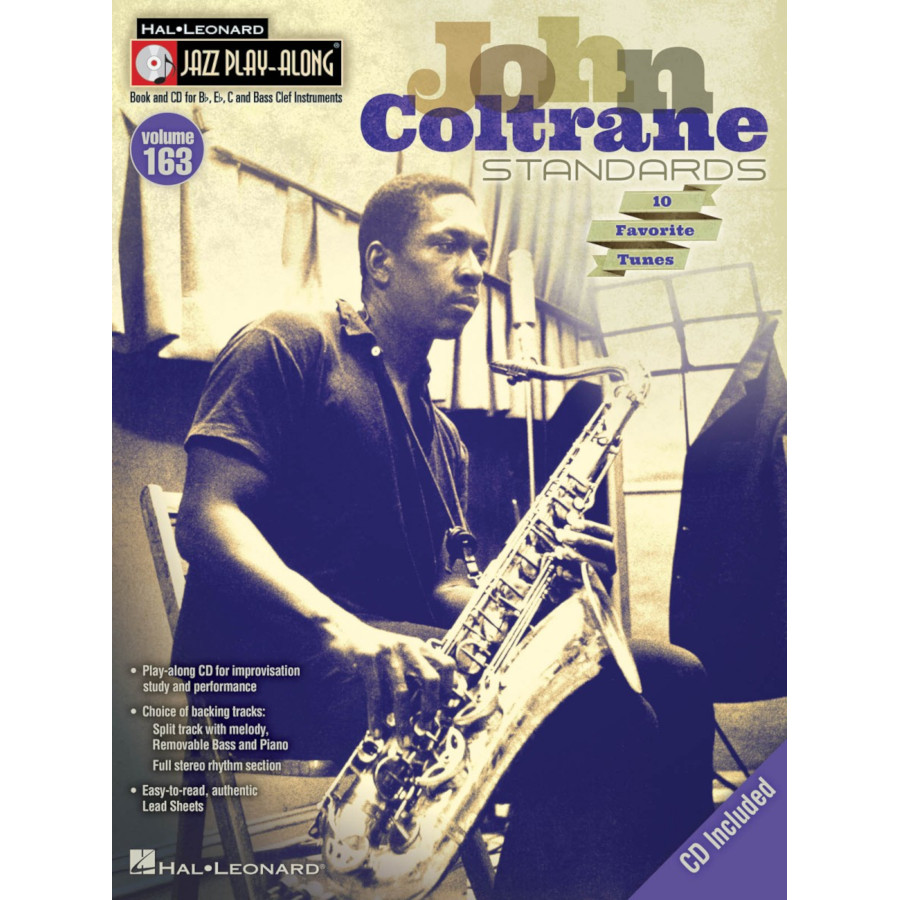 Jazz Play-Along Volume 163: John Coltrane