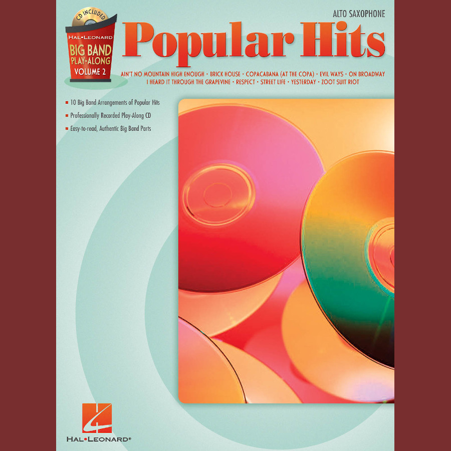 Big Band P-A Volume 2: Popular Hits (Alto Sax)