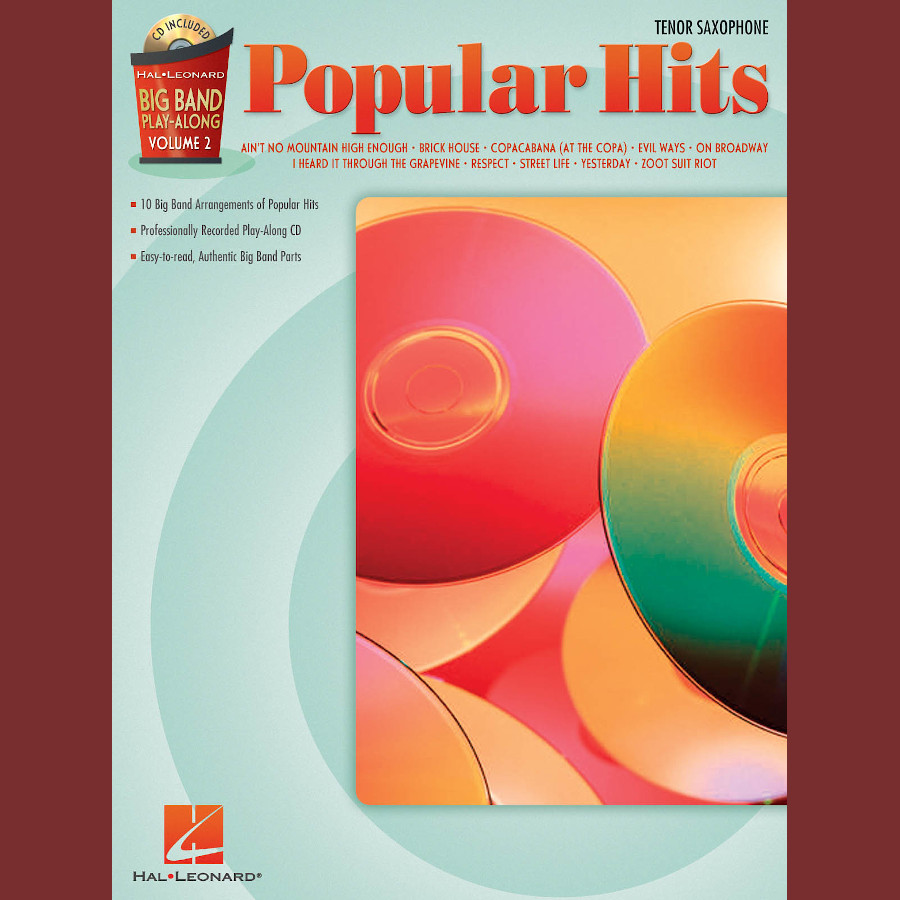 Big Band P-A Volume 2: Popular Hits (Tenor Sax)