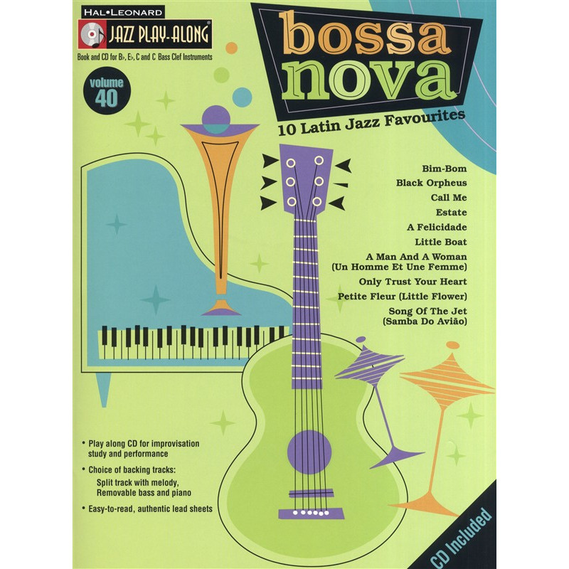 Jazz Play Along: Volume 40 - Bossa Nova