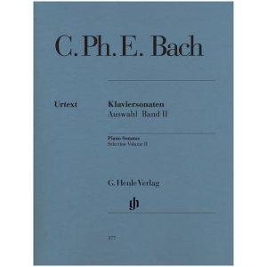 C. P. E. Bach: Piano Sonatas, Vol. 2