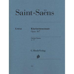 Saint-Saens: Clarinet Sonata Op. 167 (Henle)