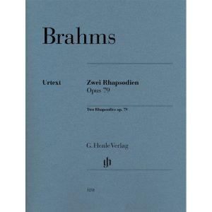 Brahms:Two Rhapsodies Op.79 (Henle) Revised