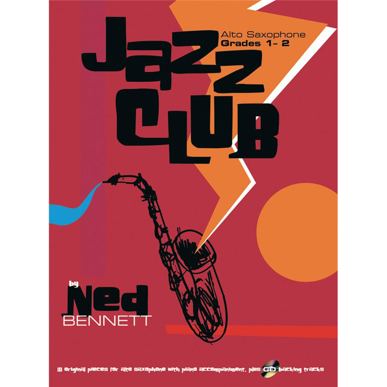 Jazz Club Alto Sax Grades 1-2