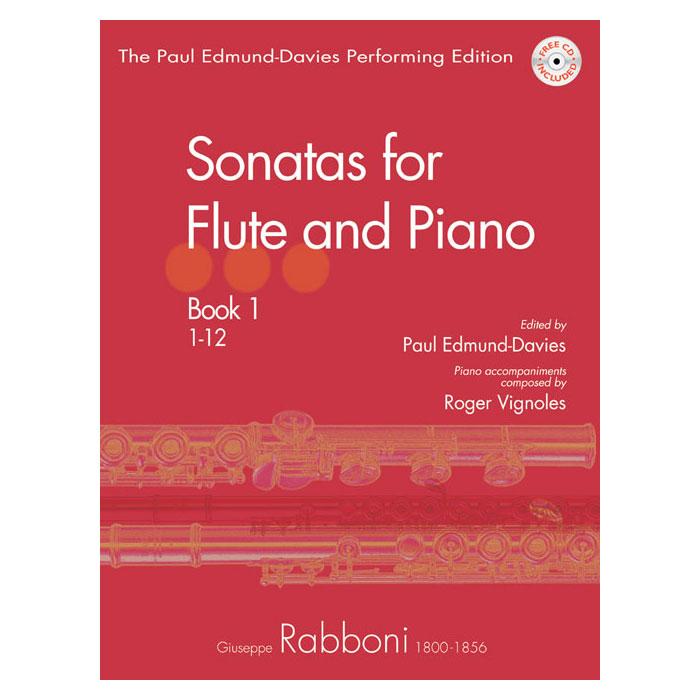 Rabboni: Sonatas for Flute & Pno, Bk 1