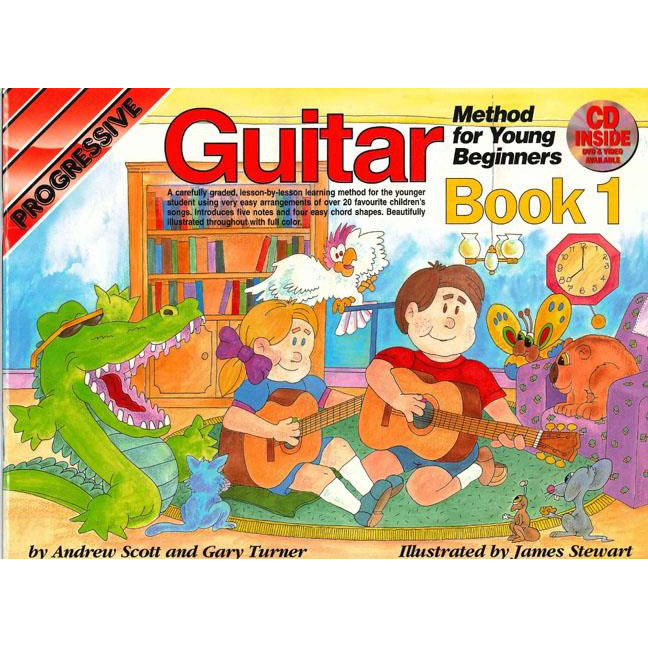 Progressive Guitar Method for Young Beginners Bk 1